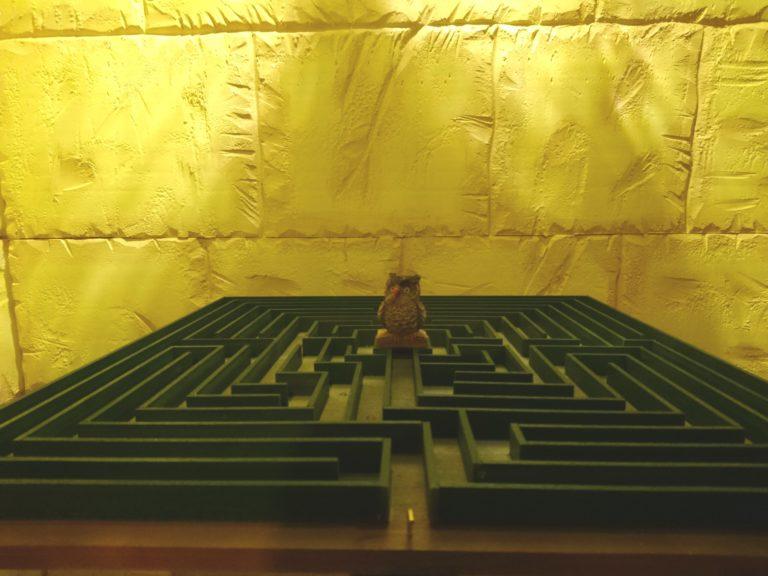 Nox-Escape Mizar magia labirinto gufo