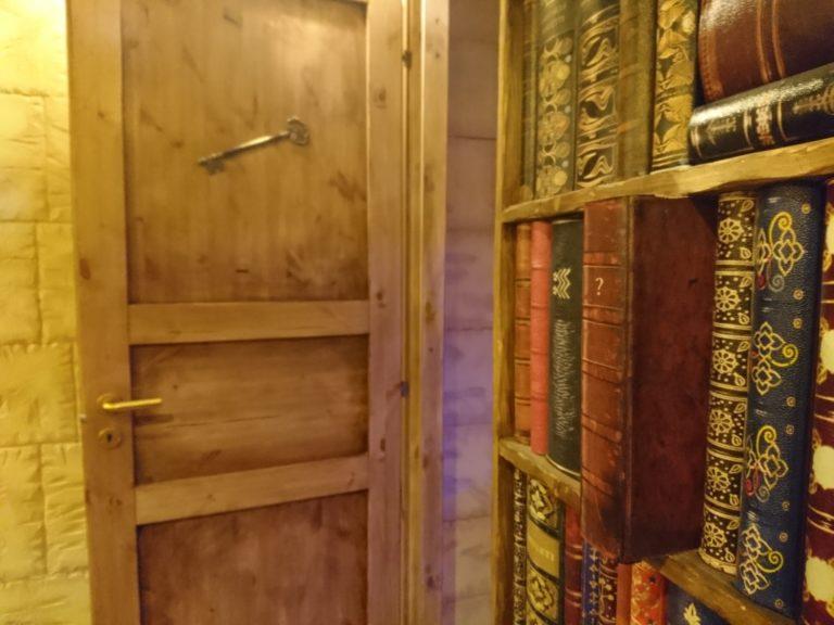 Nox-Escape Mizar magia libreria