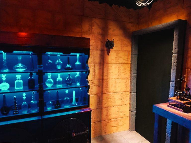Nox-Escape.com Fuga da Hogwarts Harry Potter magia pozioni alchimia drago portale 2