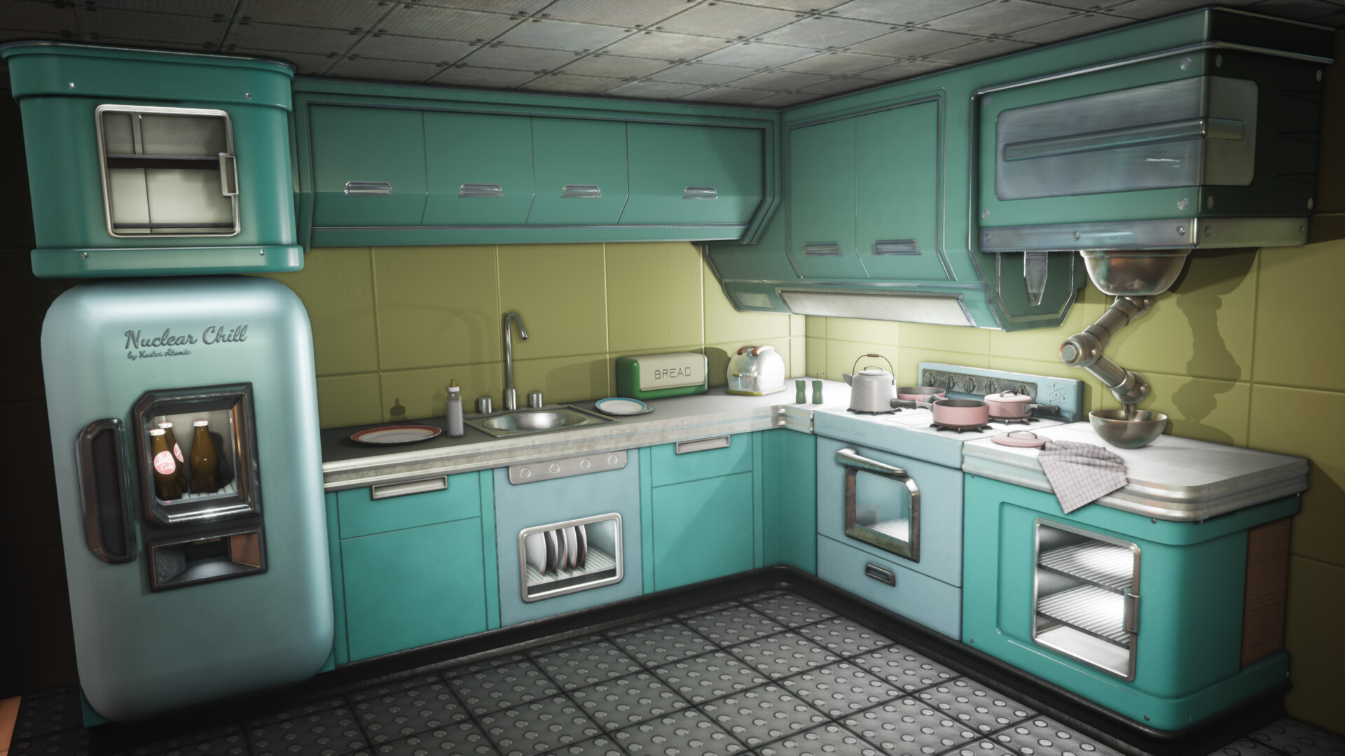 fallout kitchen