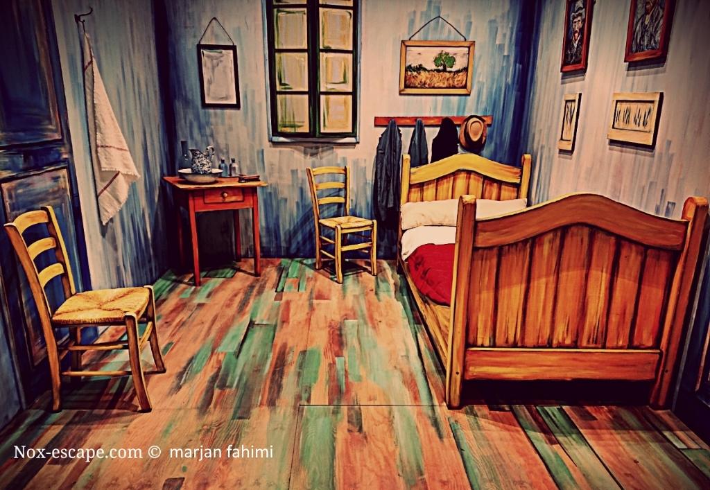 la stanza di van gogh nox-escape